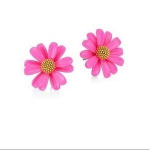 NWT Kate Spade Into The Bloom Stud Earrings-pink